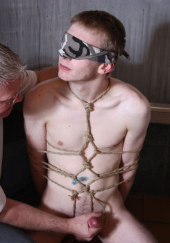 tied up and used